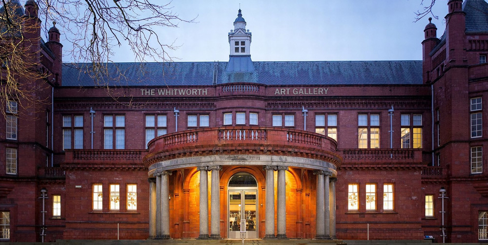 The Whitworth gallery, exterior front view